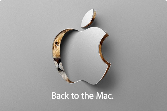 Back to the mac media event