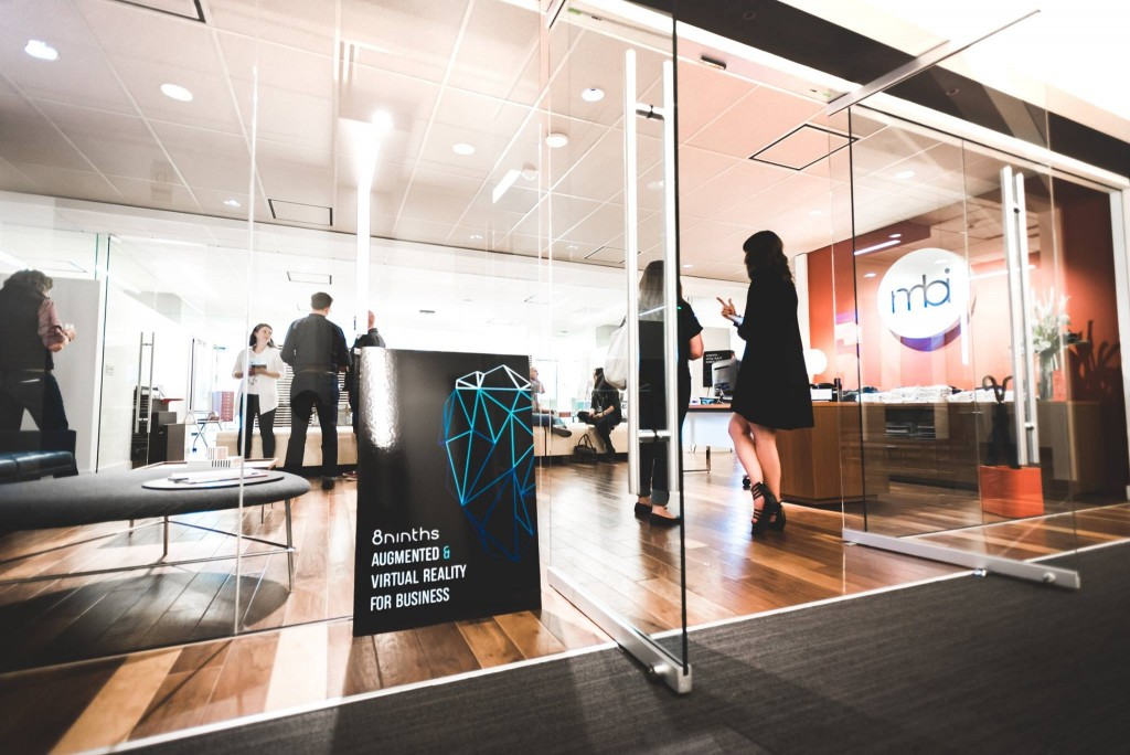 MBI Showroom entrance for AR and VR for Business