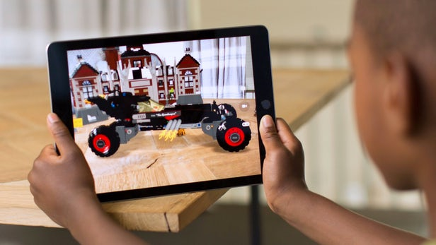 Apple's mobile AR play