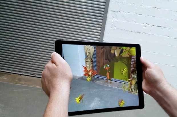 ARKit Demo Part II – Rainforest Garage
